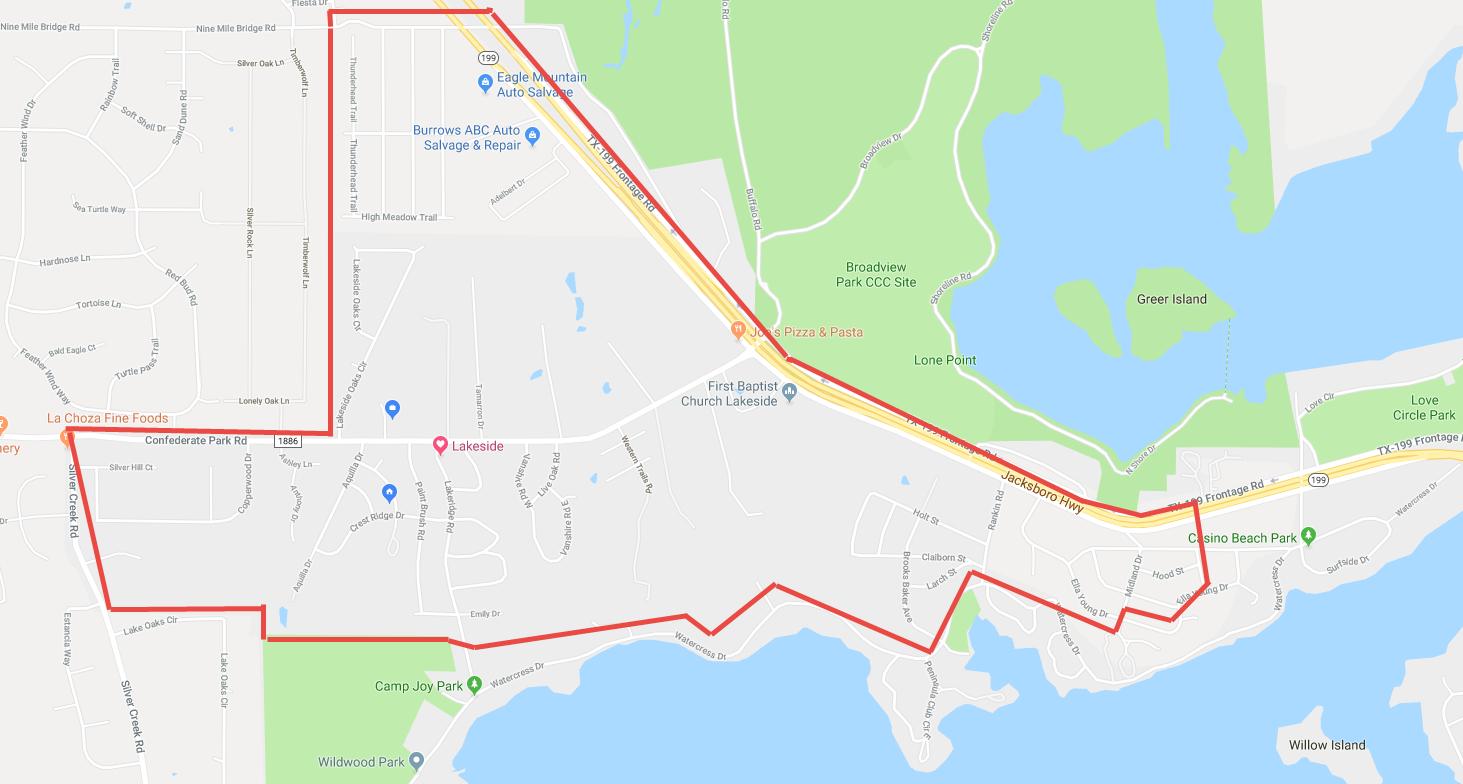 Lakeside-Map
